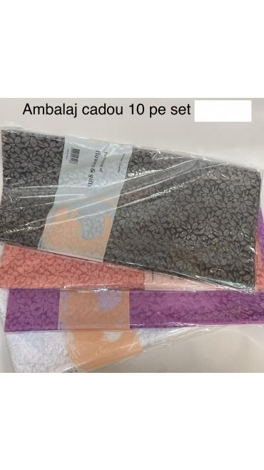 ambalaj cadou 10 buc /set 5/set