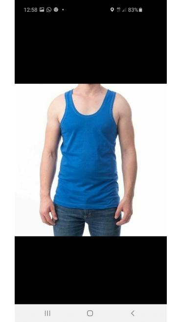 maiou barbati color negru/gri/bleumarin/camuflaj/albastru/khaki 100%bumbac (o singura marime in set) M-2XL 6/set