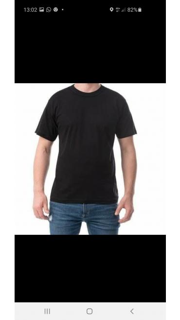 tricou barbati negru/bleumarin/gri/albastru/rosu/khaki/verde/grena/camuflaj (aceeasi marime si culoare) M,L,XL,2XL 100%bumbac 6/set