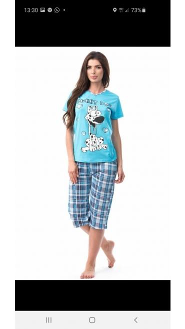 pijama dama s-xl 4/set