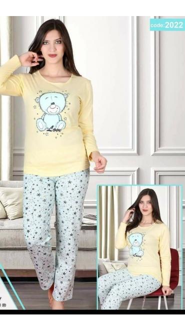pijama dama Backy 100%bbc s-2xl 5/set