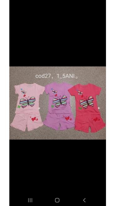 pijama copii 5-10 ani 4/set