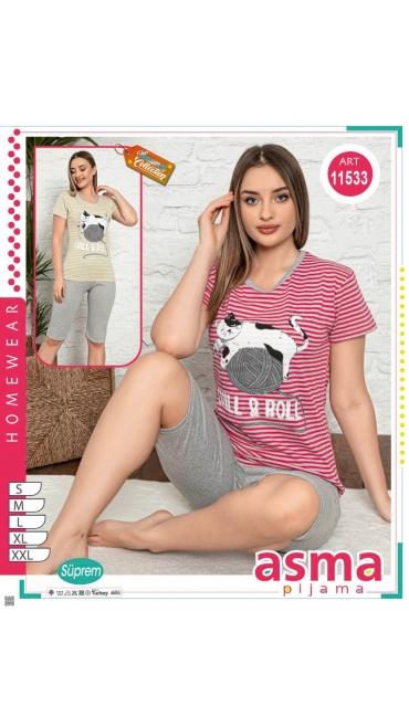 pijamale dama s-2xl 5/set