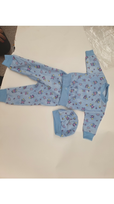 compleu bebe catifea romaneasca 3 pcs 4/set