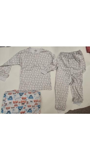 pijama copii 2-7 ani 10/set