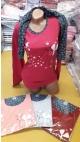 pijama dama batal 5/set